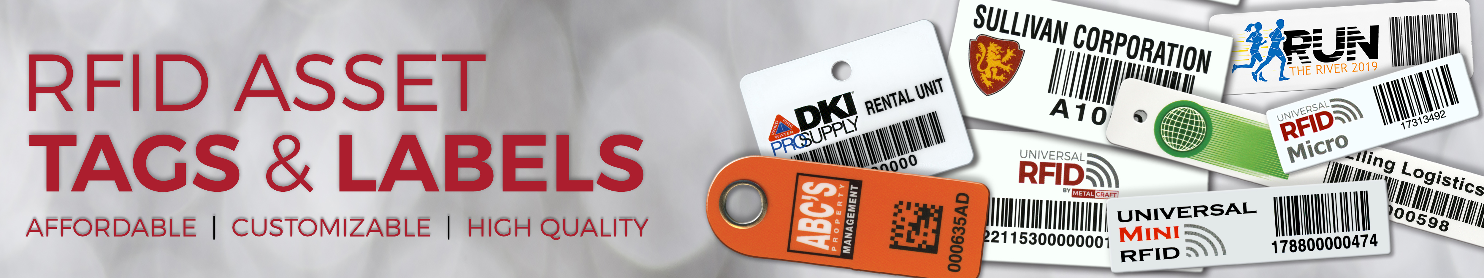 RFID Asset Tags & Labels
