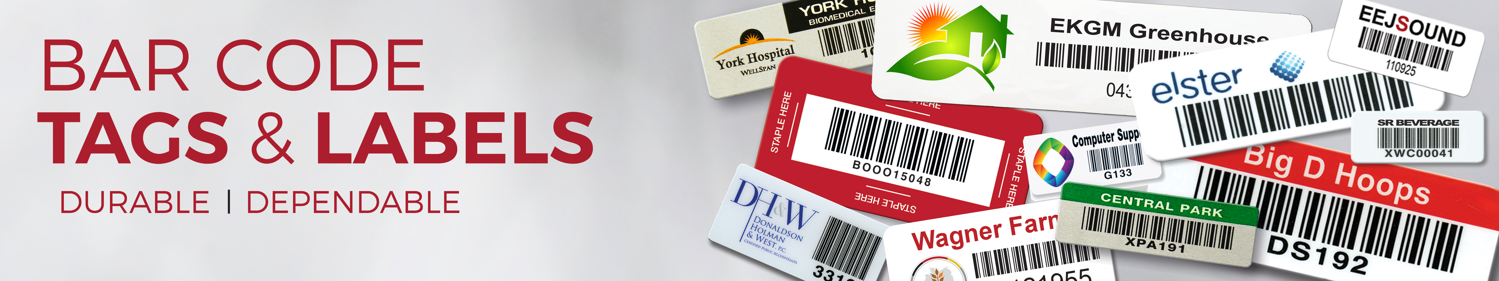 Barcode Labels & tags