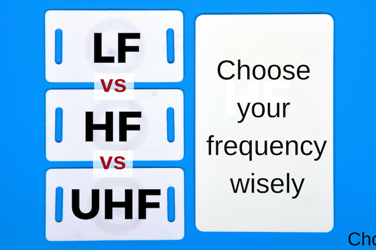 LF, HF, UHF frequencies: what's the difference